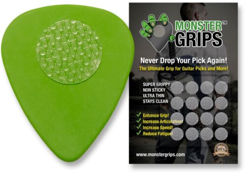 Monster Grips™ - The Ultimate Grip For Guitar Picks (plectrums) And More!