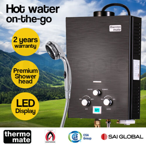 【EXTRA15%OFF】Thermomate Outdoor Water Heater Gas Camping Portable Tankless <br/> 15% off* with code PLUSJY15. Ends 28th Jan.T&Cs apply