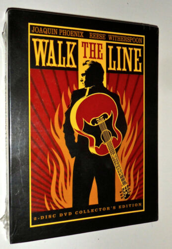 Walk the Line (DVD, 2006, 2-Disc Set, Collector's Edition   B/New Sealed