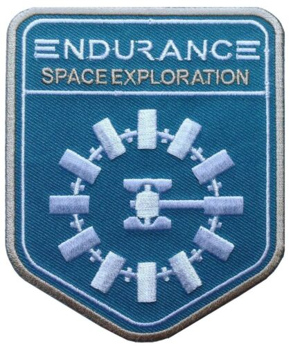 Interstellar Endurance Nolan Alien Sci Fi Movie Película Patch Iron On Parches - 4725