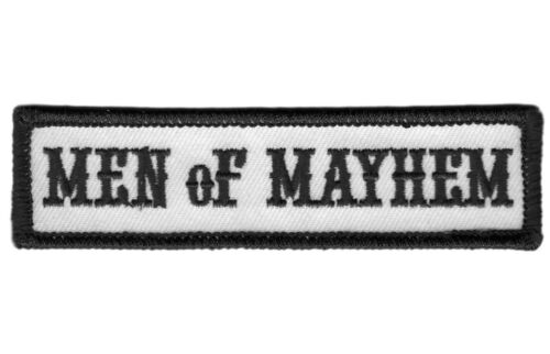 Men Of Mayhem - Motorcycle Club Outlaw Anarchy Biker Jacket Vest Patch Parche Parches - 4725