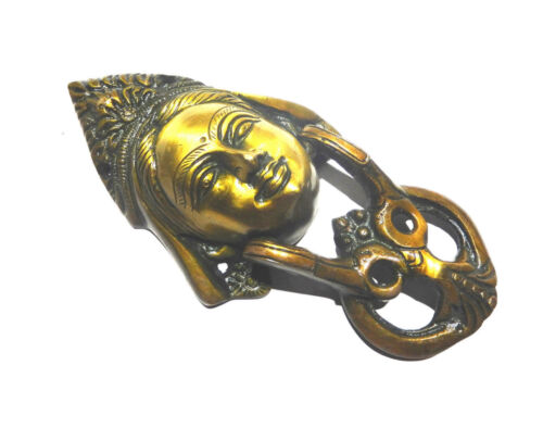 Lady Face Shape Antique Vintage Style Handmade Brass Door Knocker Home Decor