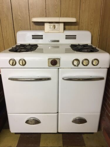 Vintage 1950's Magic Chef Gas Stove Original Owner