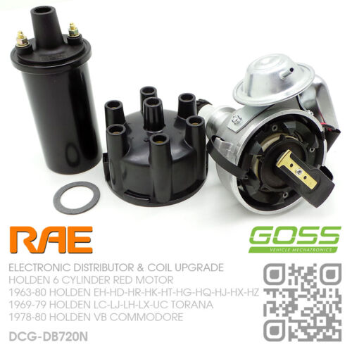 FUELMISER DIS200 ELECTRONIC DISTRIBUTOR SUIT HOLDEN 173 202 6cyl 1978-1985