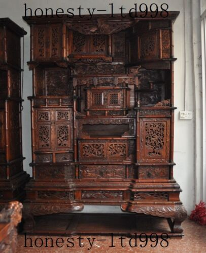 Huanghuali Wood Classical Placed Cabinet drawer wardrobe Lockers Storage cabinet