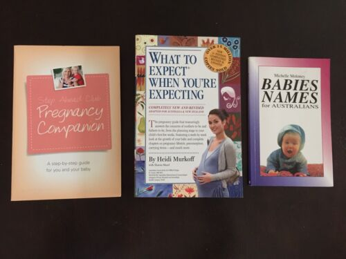 What to Expect When You're Expecting, Pregnancy Companion, Baby Names Books