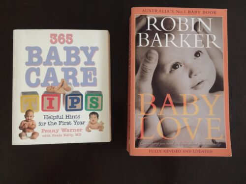 Baby Love by Robin Barker, 365 Baby Care Tips Helpful Hints for Baby Books