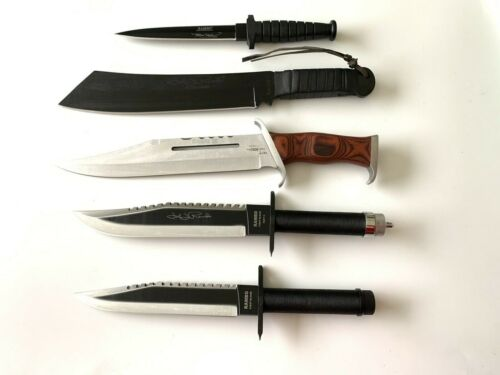 Rambo First Blood 5 Knives Collection Set
