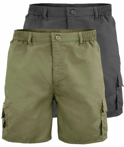 Bermuda Uomo con Tasconi Laterali Shorts Cargo Casual Comfort GIROGAMA 3460IT