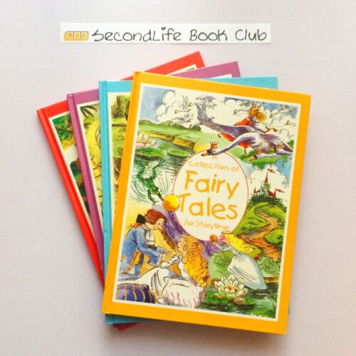 x4 COLLECTION OF FAIRY TALES FOR STORYTIME. Hardcover. Grandreams.