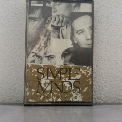 Simple Minds ‎– Once Upon A Time - 1985 - (Cassette Audio - K7 - Tape)