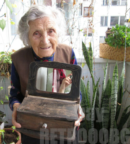 19thC   Early  antique ✿  primitive big  wedding wooden vessel, wood