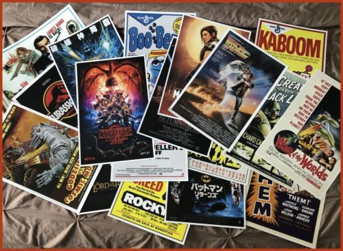"""(6) PACK POSTER SPECIAL - ANY (6) 12"""" x 18"""" POSTERS IN OUR STORE, NO EXCLUSIONS!"""