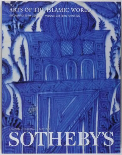 Book: Islamic Antiques & Arts @ Sotheby's Auction -Ceramic Calligraphy Metals +