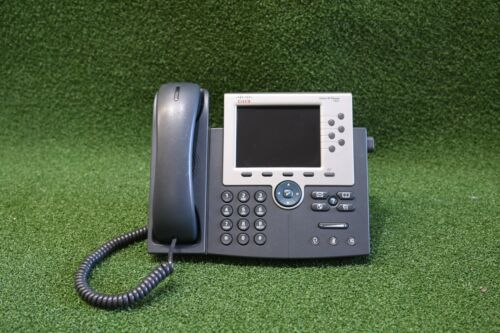Cisco CP-7965G Telephone 7965G Unified IP Phone Color Screen Gig PoE - 1YrWty