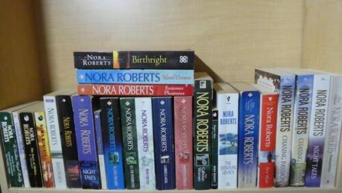 NORA ROBERTS - BULK LOT OF 27 BOOKS - MACGREGOR SERIES, THE OFFICIAL COMPANION +