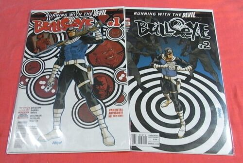 BULLSEYE #1, 2 - Running with the DEVIL (2017) bagged & boarded..!
