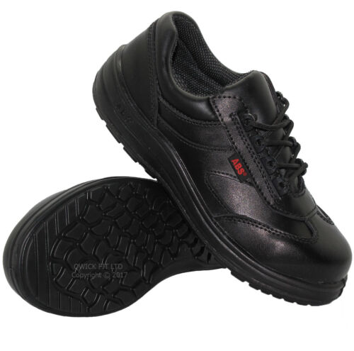 LADIES DELTA PLUS SAFETY LEATHER WATERPROOF STEEL TOE CAP WORK TRAINERS SHOES SZ <br/> FAST DESPATCH – QUALITY PRODUCTS – SPECIAL PRICE - NEW