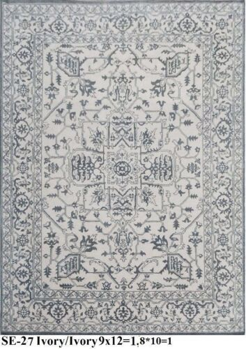 Indian Hand Knotted 8x10 240x300 Serapi Persian Oriental Wool Carpet Area Rug