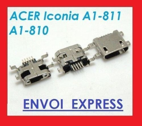 Jack Connector Socket Charching Power Supply USB for Acer Iconia A1-810