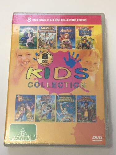 Kids Collection - 8 Movies My Little Pony, Secret Of Mulan (4 DVD Set - R4) NEW