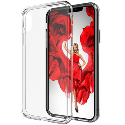 Luvvitt iPhone XS Max Case Clear View Hybrid Cover for 6.5 inch Screen 2018