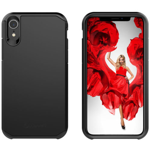 Luvvitt Ultra Armor Case for iPhone XR with 6.1 inch Screen 2018 - Black