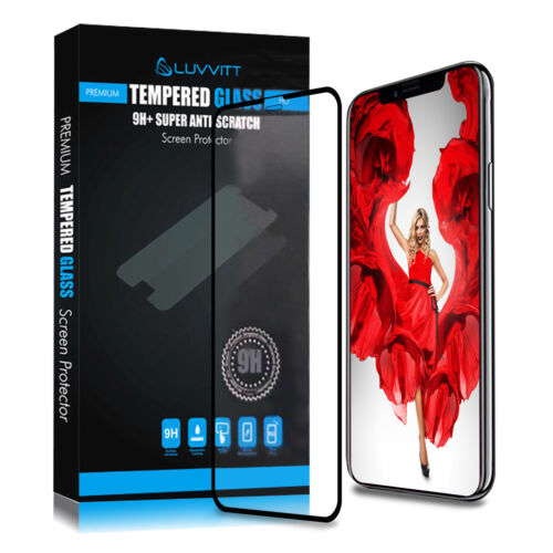 Luvvitt Tempered Glass for iPhone XR with 6.1 inch Screen 2018