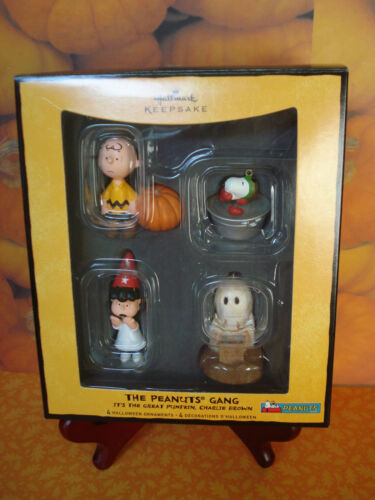 HALLMARK HALLOWEEN 08 THE PEANUTS GANG IT'S THE GREAT PUMPKIN CHARLIE BROWN NEW