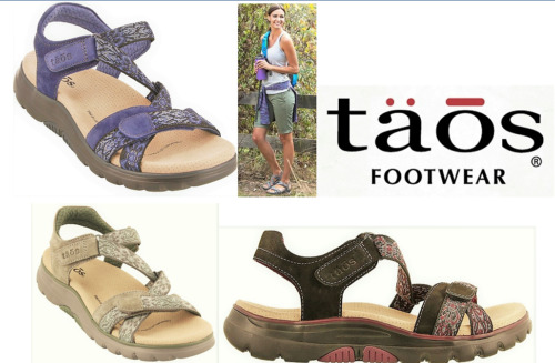 Taos Footwear Comfort footbed Walking leather Sandals Taos Shoes Zen