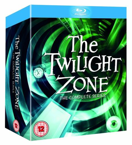 THE TWILIGHT ZONE COMPLETE ORIGINAL SERIES BOX SET 23 DISC BLU-RAY RB NEW&SEALED
