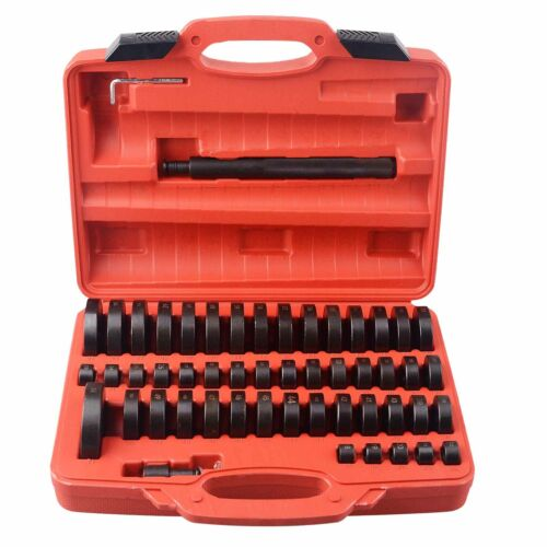 52Pc Custom Bushing Bearing Seal Driver Push Press Disc Tool Set 18-65mm