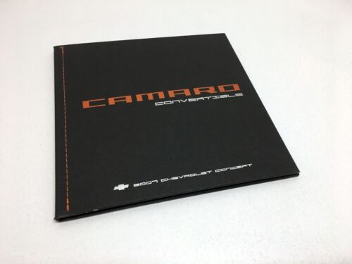 Chevrolet Camaro Convertible Concept Press Kit Hardcover Brochure