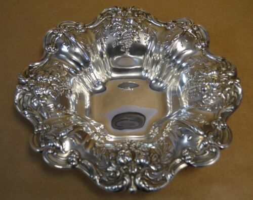 """Reed & Barton Francis I Sterling Silver Bowl X569 - 11.5"""" - 629g - Dated 1949"""