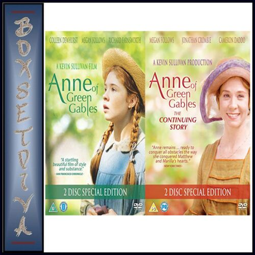 ANNE OF GREEN GABLES PLUS THE CONTINUING STORY SPECIAL EDITIONS BRAND NEW DVD