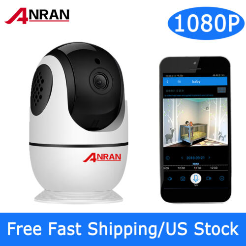 1080P Security Camera WiFi Wireless Audio Talk Baby Monitor CCTV IPC Home System