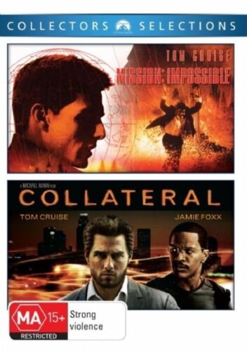 MISSION IMPOSSIBLE / COLLATERAL New 2 Dvd TOM CRUISE ***