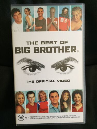 THE BEST OF BIG BROTHER ~ THE OFFICIAL VIDEO ~ RARE AS NEW/MINT VHS VIDEO