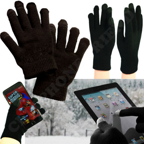 For Mens Winter Warm Gloves Knit Soft Thermal Texting Active Touch Screen Phone
