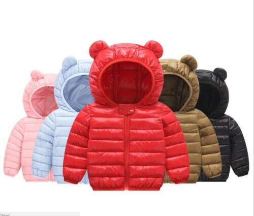 baby kids boys clothes winter thick warm padded jackets girls quilted jacket
