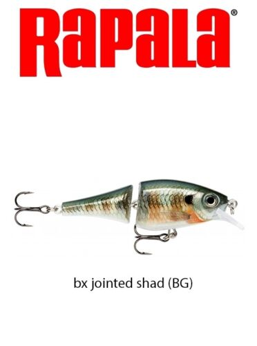 RAPALA BX JOINTED SHAD 7gr/6cm COLORE BG  IL TOP!!!!  VERAMETE INFALLIBILE !!