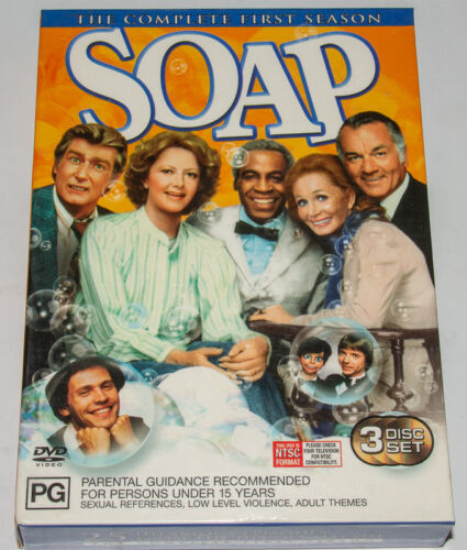 Soap - The Complete First Season (DVD, 2003, 3-Disc Set)