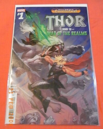 THOR #1 - Road to War of the Realm - Halloween Comicfest issue