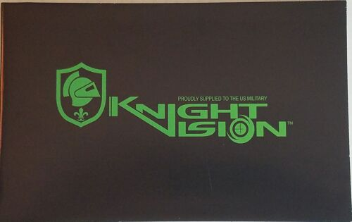 Knight Vision Poster Size Information NEW Sights MilitaryOther Militaria (Date Unknown) - 66534