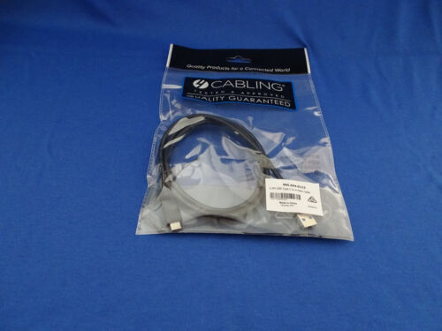 USB C CABLE - 1.2 METRE - USB 3.1 TYPE C TO TYPE A MALE CABLE