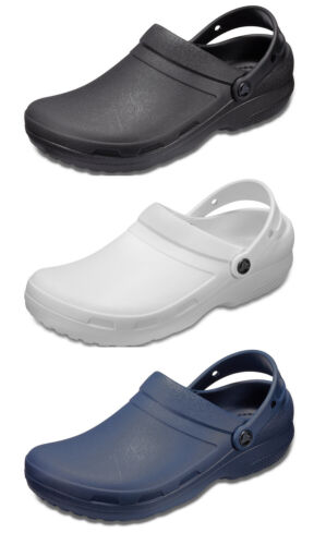 Crocs Adults Specialist II Mens Womens Medical Professionals Croslite Work Clogs
