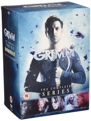 """GRIMM THE COMPLETE SERIES COLLECTION 1-6 DVD BOX SET 33 DISC R4 """"NEW&SEALED"""""""