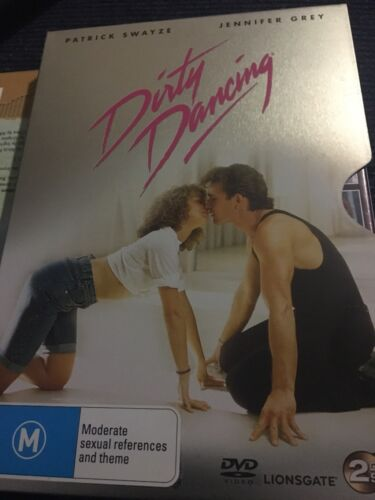DIRTY DANCING (DVD, 2-Disc Limited Tin Edition) 1997, M15+, Patrick Swayze