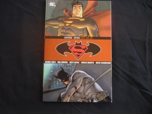 Superman and Batman Night and Day graphic Novel  DC Brand New (b11)