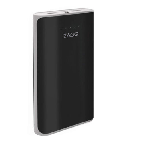 Zagg Ignition 12 12000mAh 2.1A Power Bank with LED Torch - Black